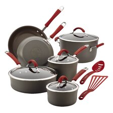 Cucina Hard-Anodized Non-Stick 12 Piece Cookware Set