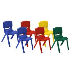 Plastic Classroom Chair (Set of 6)