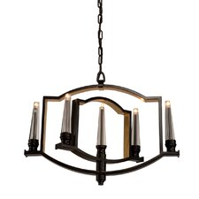 Perceptions 5-Light Candle-Style Chandelier