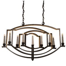Perceptions 9-Light Candle-Style Chandelier