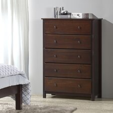 Shaker 5 Drawer Chest