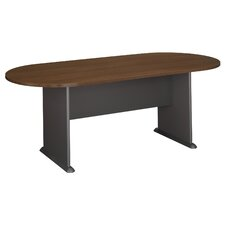 6.9' Oval Conference Table