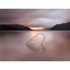 'Tranquil Heart' by Ian Winstanley Framed Photographic Print on Canvas