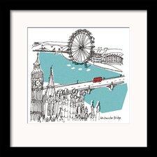 London I by Susie Brooks Framed Art Print