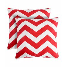 Rockford Zig Zag Throw Pillow (Set of 2)