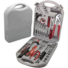 141 Piece Heavy Duty Mixed Portable Toolkit with Carrying Case