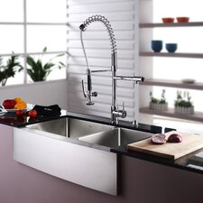 kraus - Kitchen Sink And Faucet Sets
