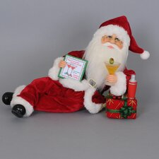 Christmas Martini Mixer Santa Figurine
