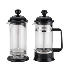 La Petite 2 Piece French Press and Milk Frother Set