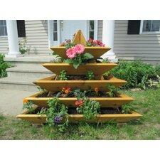 4 ft x 4 ft Cedar Vertical Garden