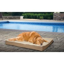 Deluxe Outdoor Orthopedic Pet Bed with Removable Cover