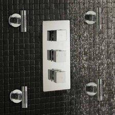 Kubix Triple Concealed Shower Valve