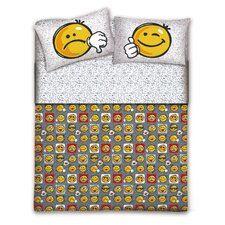 Bettwäsche-Set Smile aus 100% Baumwolle