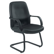 Canasta Visitor Leather Guest Chair