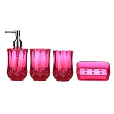 Cristallo 4-Piece Bathroom Accessory Set