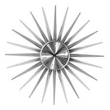 Oversized 61cm Sunburst Wall Clock