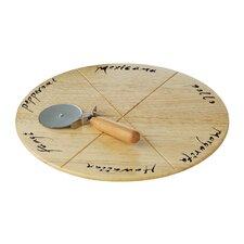 32 cm Pizzabrett und Schneider