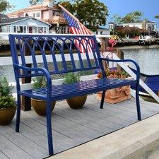 Blankenship Steel Garden Bench