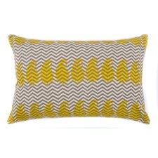 Paisley Zig Zag Cotton Throw Pillow