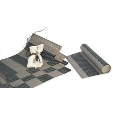 5 Piece Runner and Placemat Set