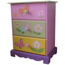 Butterfly Garden 3 Drawer Chest of Drawers