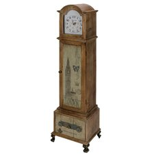 Longcase 135cm Grandfather Clock