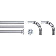 Seallux 170cm U-Shaped Fixed Shower Curtain Rail