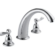 Windemere Double Handle Deck Mount Roman Tub Faucet Trim