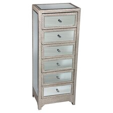 Tania 6 Drawer Chest of Drawers