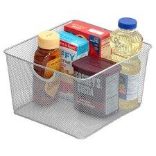 Mesh Open Bin Storage Basket Organizer