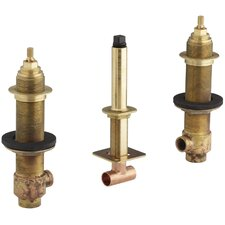 "3/4"" Ceramic High-Flow Valve System"