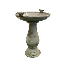 Ceramic Birdbath
