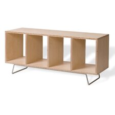 Birch Plywood Storage Entryway Bench