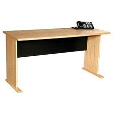 Modular Real Oak Wood Veneer Furniture Desk Shell