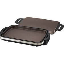 Gourmet Sizzler® Stainless Electric Griddle