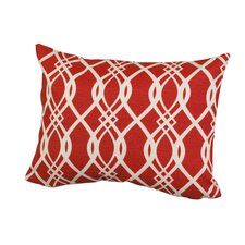 Geometric Indoor/Outdoor Throw Pillow