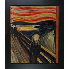 The Scream by Edvard Munch Framed Oil Painting on Canvas
