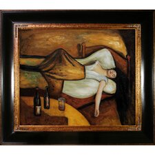 The Day After by Edvard Munch Monet Framed Painting