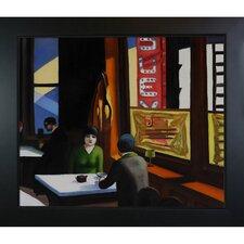 Chop Suey by Edward Hopper Framed Painting Print