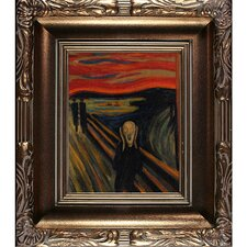 The Scream by Edvard Munch Framed Painting