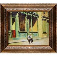 Sunday by Edward Hopper Framed Painting Print