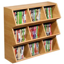 VHZ Stackable 3 Compartment Cubby