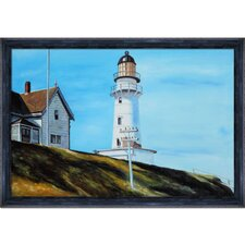 Light at Two Lights by Edward Hopper Framed Painting Print