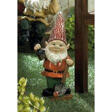 Little Lantern Gnome Solar Statue
