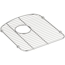 Langlade Smart Divide Stainless Steel Sink Rack for Right-Hand Bowl