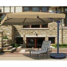 10' Santorini II Square Cantilever Umbrella
