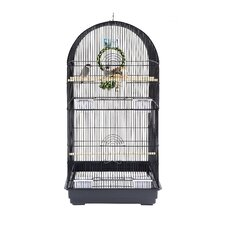 Caracus Bird Cage in Black