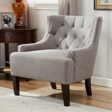 Barwood Tufted Accent Wingback Chair