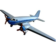 Collectible Tin Toy Model Plane