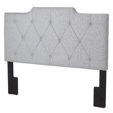 Inset Upholstered Panel Headboard